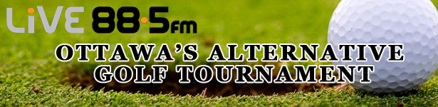 Live 88.5 Golf Tournament Banner