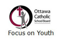 Ottawa Catholic School Board Focus On Youth Logo