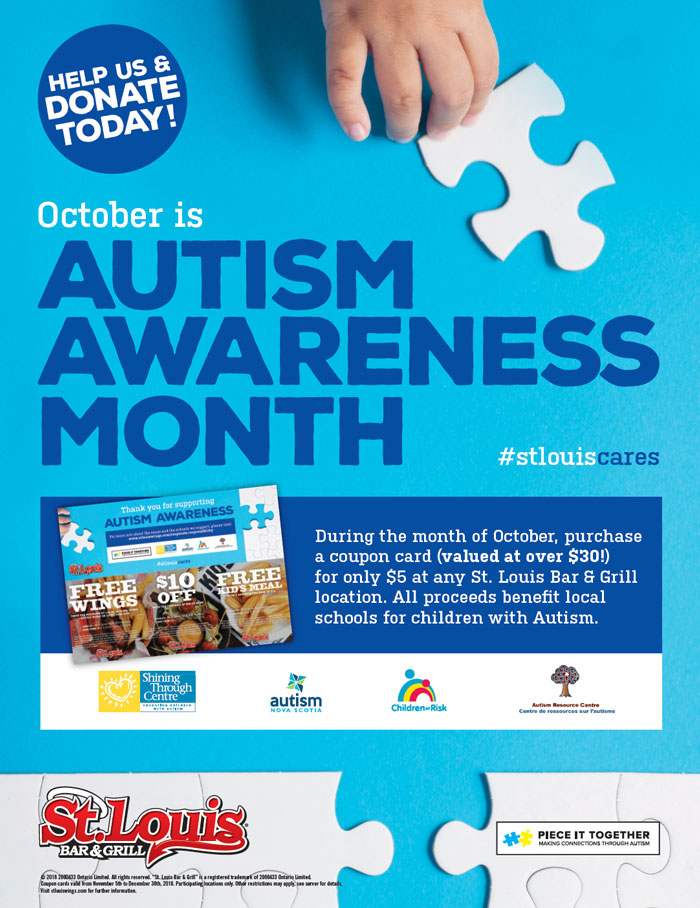 St. Louis Autism Awareness Poster 2018