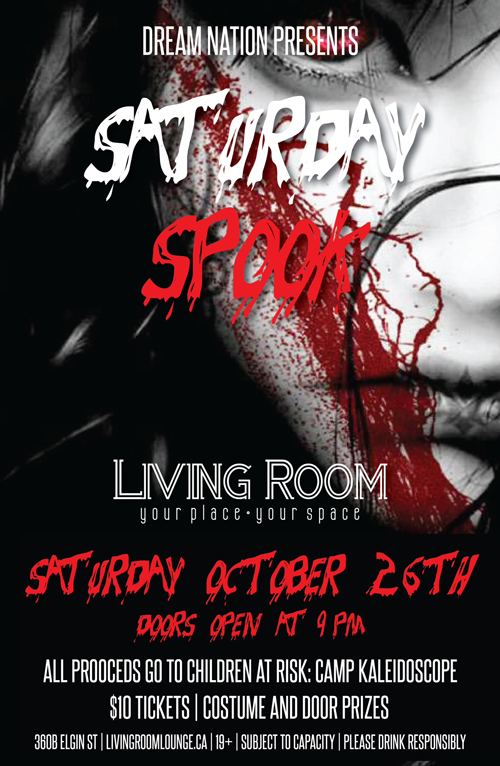 Spook Party Poster
