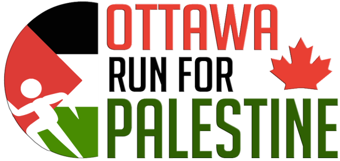Ottawa Run For Palestine Logo